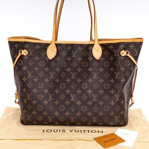 🔥 LOUIS VUITTON Neverfull GM Monogram Bag